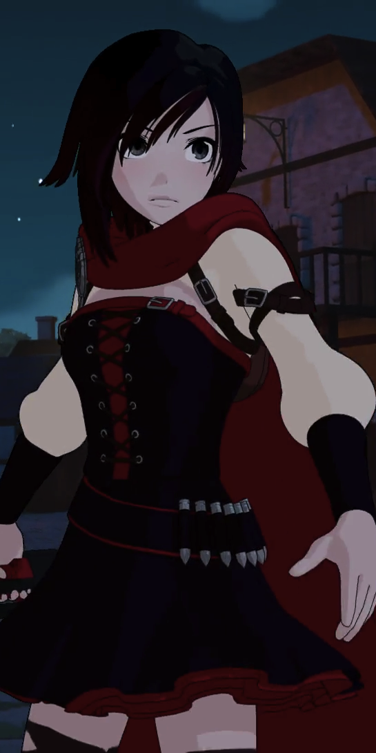 Ruby Rose on emerald rwby vol 4