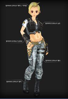 Military Dominic female set