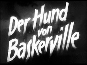 Der hund von baskerville film 1937 sherlock holmes for Der hund von baskerville