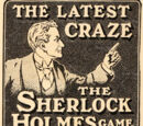 The Latest Craze - The Sherlock Holmes Game