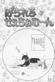 Parallel sailor moon page cover