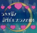Łzy Usagi! Szklane pantofelki na urodziny