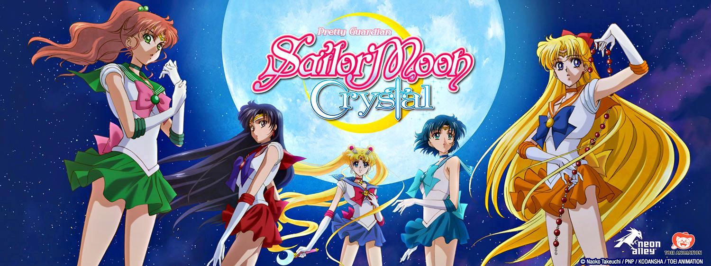 Risultati immagini per sailor moon crystal banner