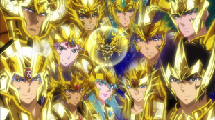 God Cloth Gold Saints