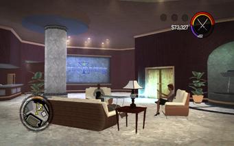 Hotel Penthouse elevator