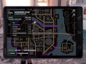 PR Center map location
