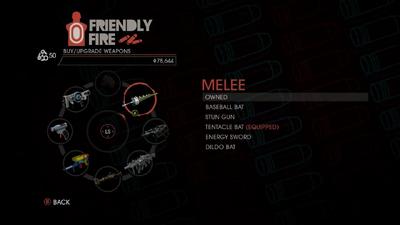 Weapon - Melee - Menu