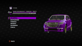 Gang Customization in Saints Row The Third - Atlantica