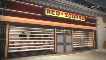 Rounds Square Shopping Center - Red Square