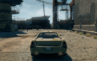 Sovereign - rear in Saints Row The Third