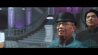 Mr. Wong - I do not joke about Sadie