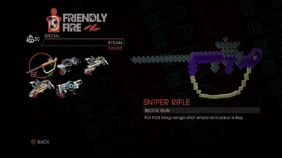 Weapon - Special - Sniper Rifle - Main