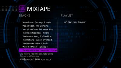 GenX 89 tracks in Saints Row IV - last 9 tracks