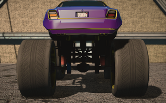 Saints Row IV variants - Infuego XL average - rear