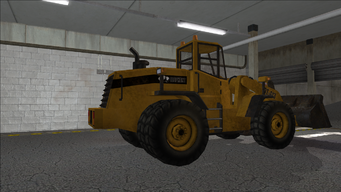 Saints Row variants - Bulldozer - rear right