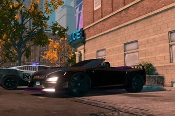Torch - front left low in Saints Row The Third