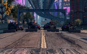 SRTT Roadblock - Police level 4 - large