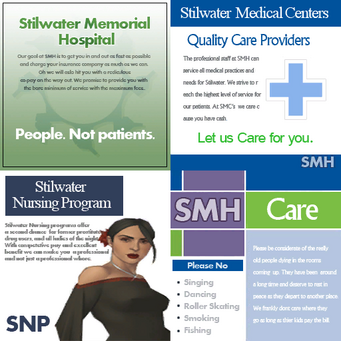 Stilwater Memorial Hospital Signs