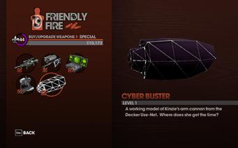 Cyber Buster - Level 1 description