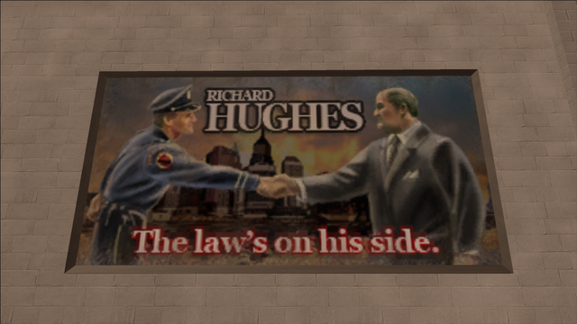 File:Richard Hughes billboard - The law's on his side.png