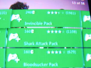 Saints Row The Third DLC photo of Invincible, Shark Attack, and Bloodsucker Packs
