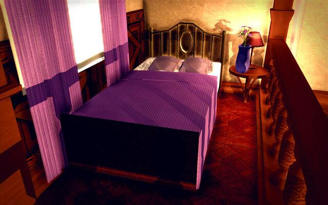 File:University Loft - Ultra Modern - bed.jpg