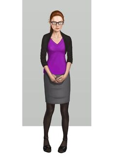 Kinzie Kensington Saints Row IV Concept Art - final colour