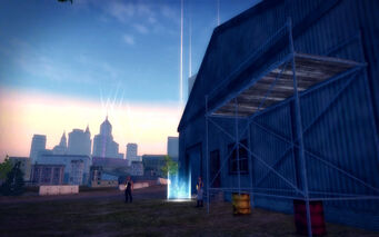 The Mills in Saints Row 2 - warehouse