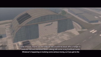 Wardill Airport Hangars intro - first scene