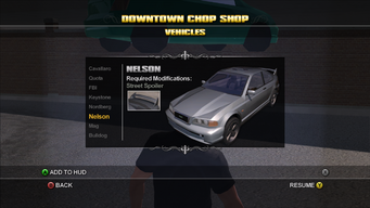 Saints Row Chop Shop - Downtown - Nelson