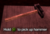 Improvised Weapon - hammer