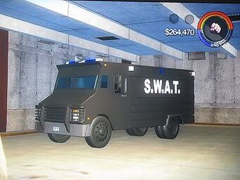 Peacekeeper - front left in Saints Row 2