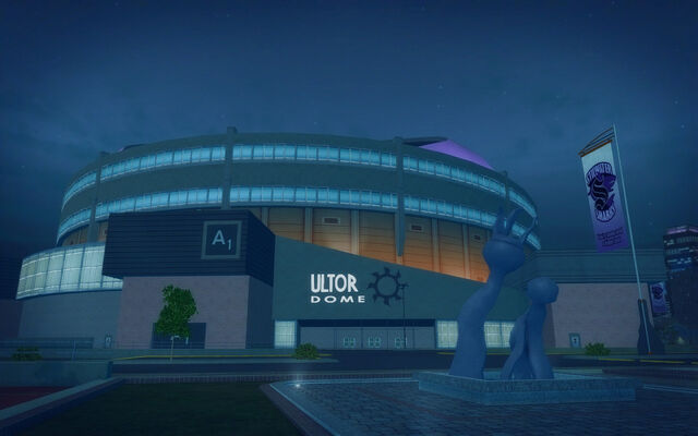 File:Ultor Dome in Saints Row 2 - Ultor Dome front and statue.jpg