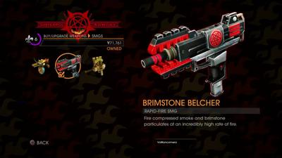GOOH halloween livestream - Weapon - SMGs - Rapid-Fire SMG - Brimstone Belcher description