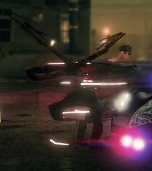 Zin cop mid-glitch - PAX gameplay video