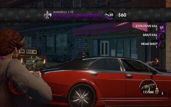 Survival 1 waves completed in Saints Row The Third