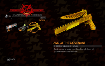 Gat out of Hell - 7 Deadly Weapons - Wrath