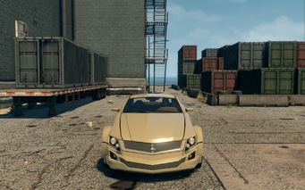 Sovereign - front in Saints Row The Third