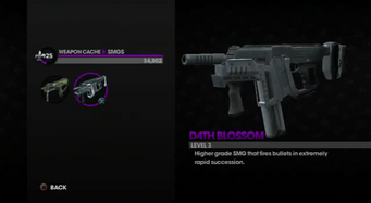 D4TH Blossom in the Weapon Cache