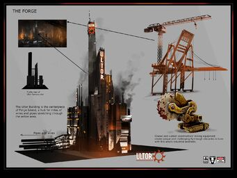 The Forge Concept Art - Ultor building