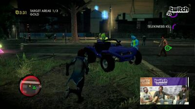 Mongoose in Prof. Genki's Mind Over Murder in Saints Row IV livestream