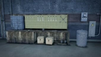 Donnie's - Interior in Saints Row 2 - tool rack