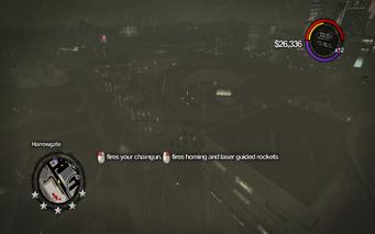 Tornado - weapon information in Saints Row 2