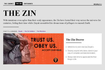 Saints Row website - People - The Zin - Intro