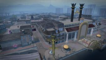 Tee'N'Ay - aerial view from north in Saints Row 2