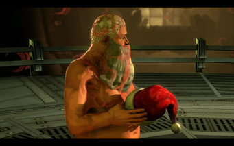 The Santa Clawz - Santa wakes up from his Simulation and finds himself lost on the Zin ship