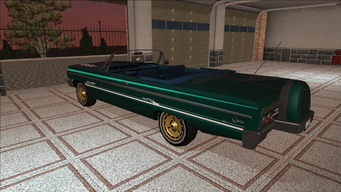 Saints Row variants - Compton - Bling - rear left