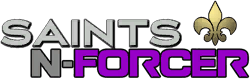 Saints N-Forcer logo