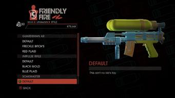 Weapon - Rifles - Burst Rifle - Soakmaster - Default