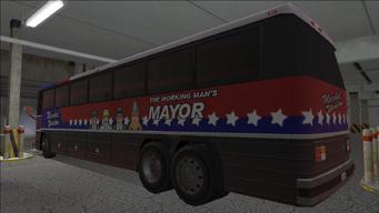 Saints Row variants - Winslow Bus - Winslow - rear left